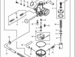 ACE 115, ENGINE PARTS : CARBURETOR