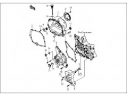 GT 128, ENGINE PARTS : ENGINE COVER