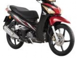 2017 NEW HONDA WAVE 125 W125i (Red)