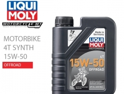 LIQUI MOLY Motorbike 4T Synth 15W-50 Offroad
