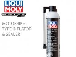 LIQUI MOLY Motorbike Tyre Inflator & Sealer