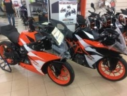 2017 Ktm rc 250 abs new design 2017 (year end sales)