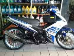 2012 Yamaha lc135 auto clutch second hand (Blue)