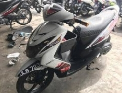 2008 Yamaha Ego S Harga on the Road Scooter