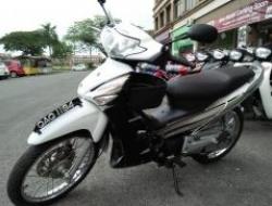 2009 Honda motorsikal terpakai