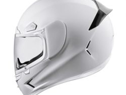 Airframe Pro Solid Gloss White Size XXL