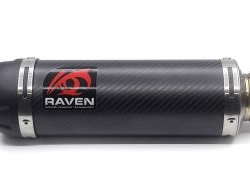 MUFFLER RAVEN CF RVM701 - SHARK FIGHTER SERIES