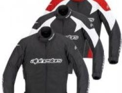 New Alpinestar T-GP Plus Textile Jacket Waterproof Size XL