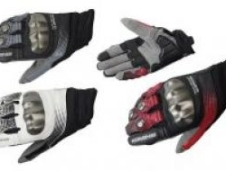 Komine Gk186 Gk 186 Touch Screen Leather Glove Size S