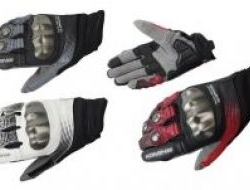 New Komine Gk186 Gk 186 Touch Screen Leather Glove Size M