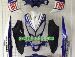 Coverset Yamaha Nouvo LC FIAT MotoGP Rossi Limited Edition 2010
