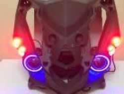Horn cover led eagle eye protector lamp Rs150