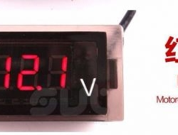 Motorcycle Waterproof Digital Voltmeter