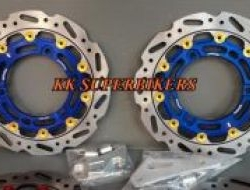 Yamaha nmax n-max front rear floating disc
