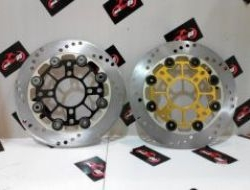 LC135 Front Alloy Floating Disc Plate