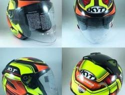 KYT Hellcat Carbon orange  Size XL