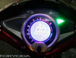 DIGITAL SPEEDOMETER HONDA FUTURE 125 BLUE