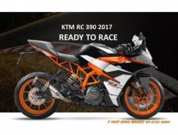 2017 2017 KTM RC 390 RC390 new model - Hup Seng Bikerz