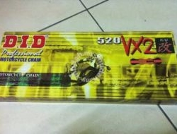 DID Superbike Chain 520 VX2 XRING (Rantai D.I.D)
