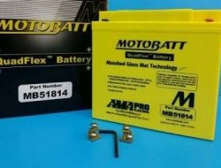 Motobatt mb51814 quadflex battery for BMW