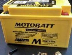 Motobatt mbtz10s quadflex battery