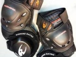 New Komine Knee Protector Guard With Slider SK-652