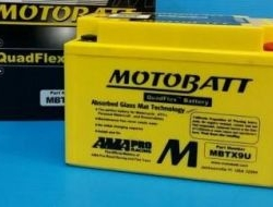 Motobatt mbtx9u quadflex battery