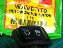 Switch button hi-low