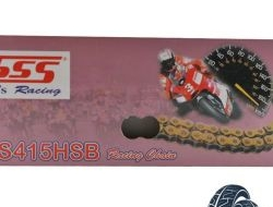 415 X 120L SSS CHAIN HALF GOLD SSS RACING CHAIN