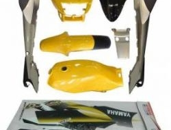 Cover set rxz with tank original hong leong yamaha