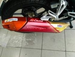Rs150R Muffler Exhaust Cover