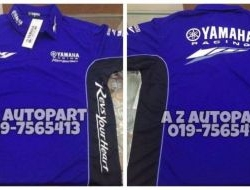 Polo T Yamaha Racing YZR-M1 2016 HLY Classic Design (Blue)