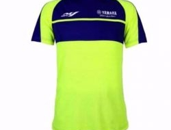 ROUNDNECK T SHIRT YAMAHA RACING M1 ( BLUE GREEN )