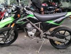 2012 Kawasaki d-tracker 150 (tip top,cantik)