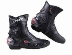 Brand New Pro Biker Mid Cut Speed Riding Boots Size 39