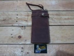 M & W Leather Wallet Brown (Design 1) - N.N
