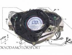 Digital Meter Honda Wave 125X ULTIMO