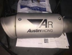 AR Racing Exhaust Muffler