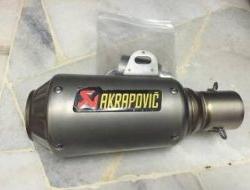 Akrapovic GP Exhaust Muffler