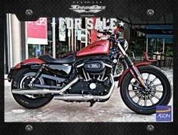 2012 2012 Harley Davidson Sportster 883 Iron
