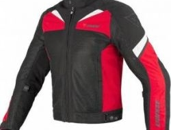 New Dainese Air 3 Tex Textile Jacket Red Size XL