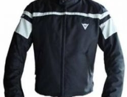 Dainese Cordura Two Layer Black Jacket Waterproof Size S