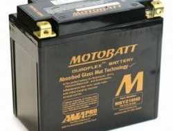 MOTOBATT Battery Bateri MBYZ16HD Harley Heavy Duty