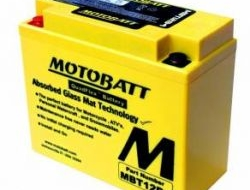 ORIGINAL MOTOBATT Battery Bateri MBT12B4 YT12B-BS