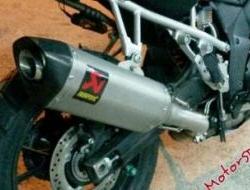 Ekzos Suzuki Vstrom 1000 Akrapovic Dual Purpose