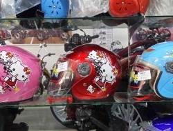 Hello Kitty Helmet for children