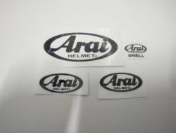 Sticker Arai Russel