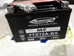 FOCUS Battery YTX12A For Kawasaki ER6 2013 - 2017