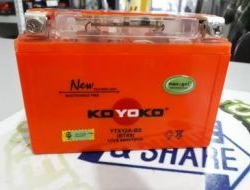 KOYOKO GEL Battery YTX12A / YT12A ER6 ER 6 (12-15)