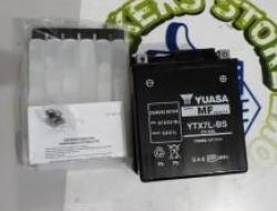 YUASA Battery YTX7L-BS FOR VESPA LVX 150